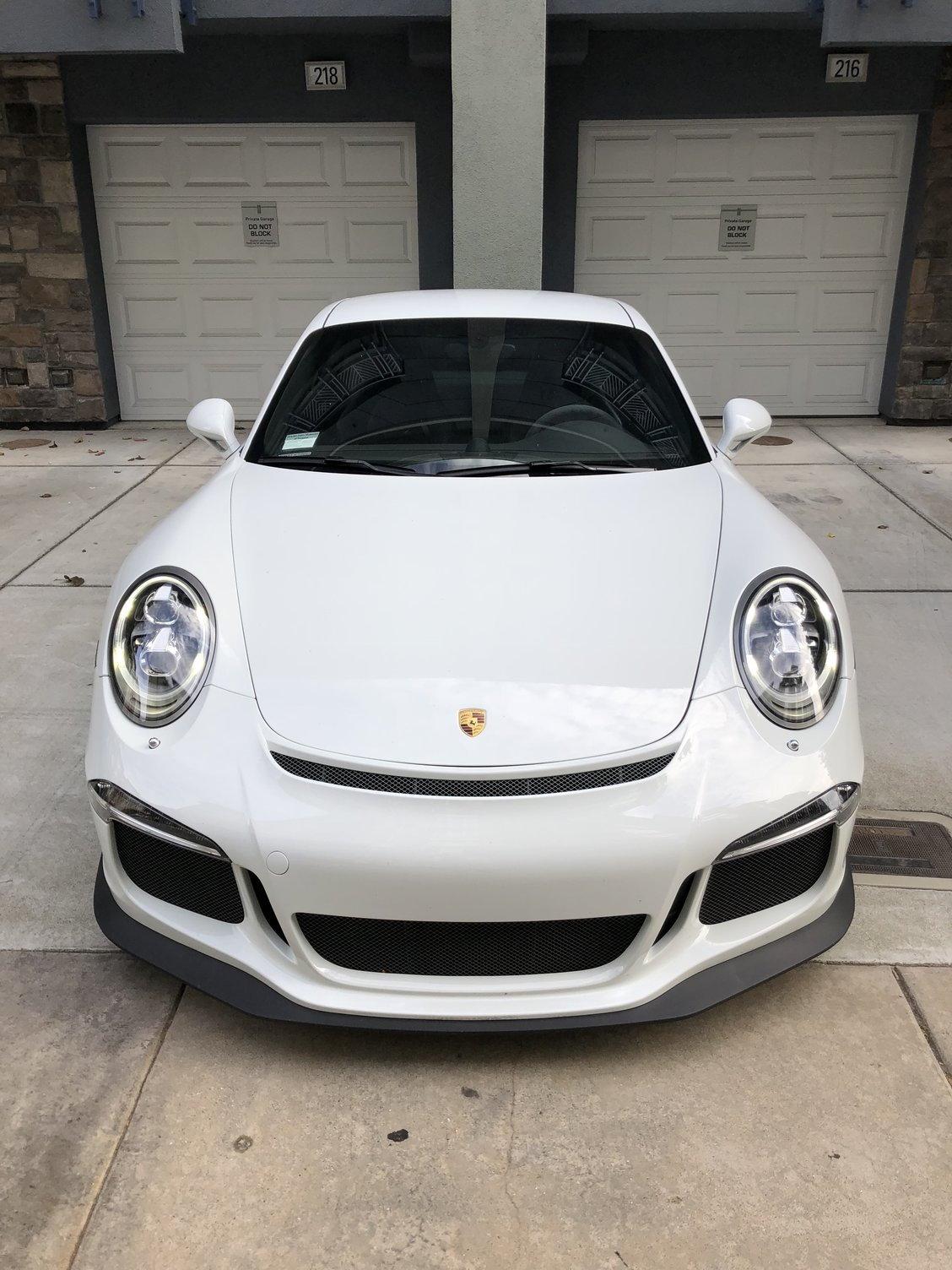 CPO Warranty , 2015 White Porsche 911 GT3 Excellent ...