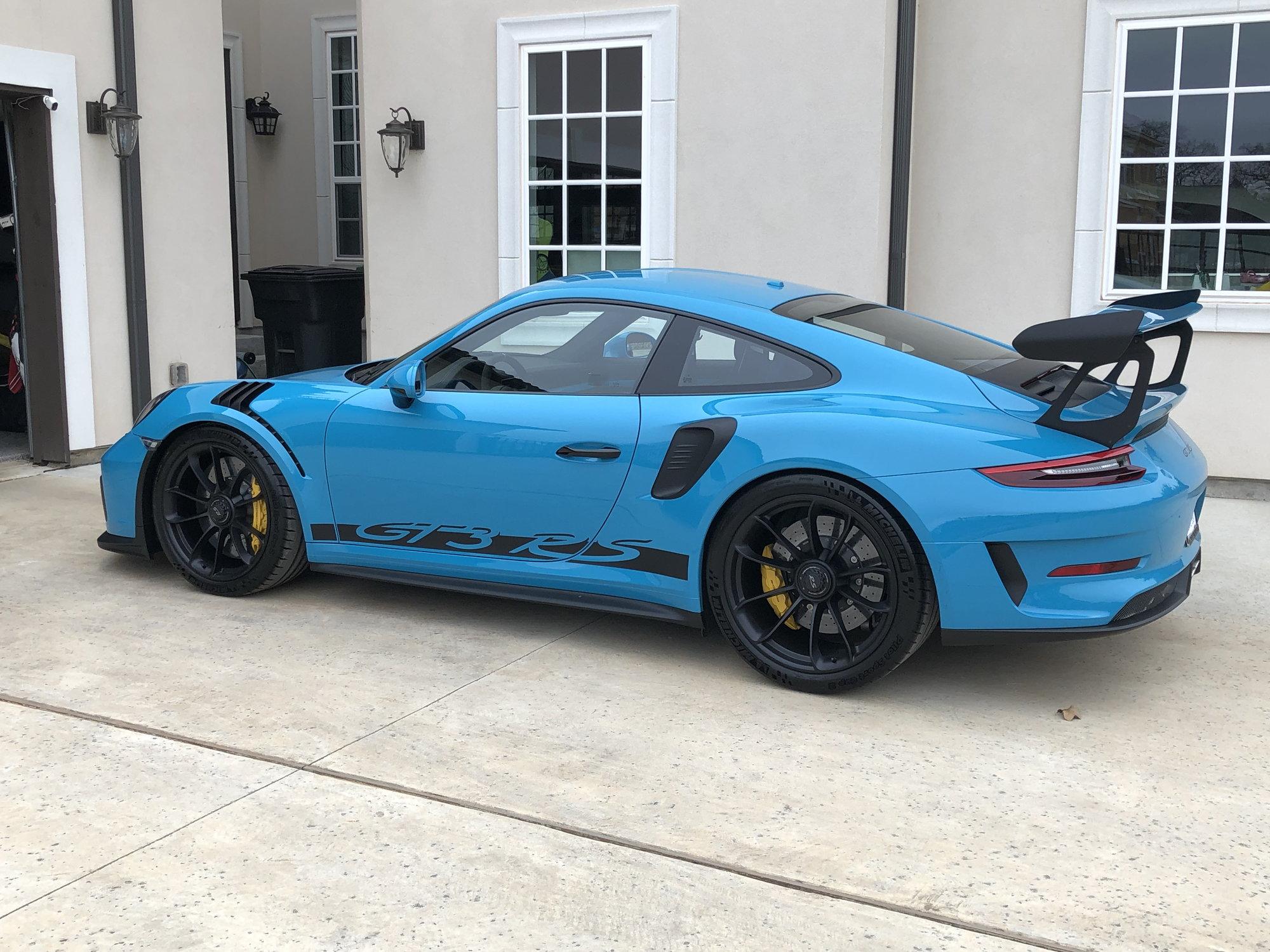 My Lichtgrun GT3 and Miami Blue RS , Rennlist , Porsche