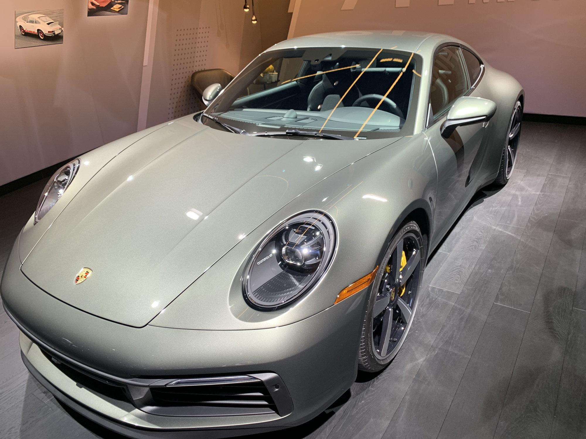 Aventurine Green Metallic At La Auto Show Rennlist Porsche