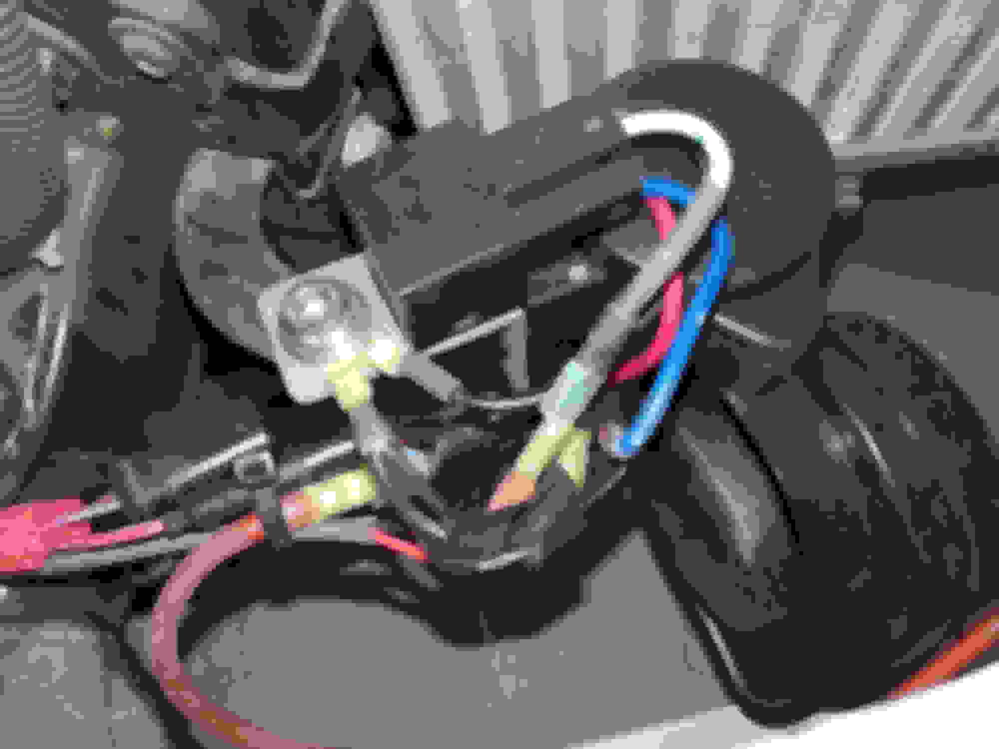 Replacing Stock Horn With An Air 6speedonline Porsche Forum Dual Tone Train Circuit 80a Spdt Relay That Feeds The Horns