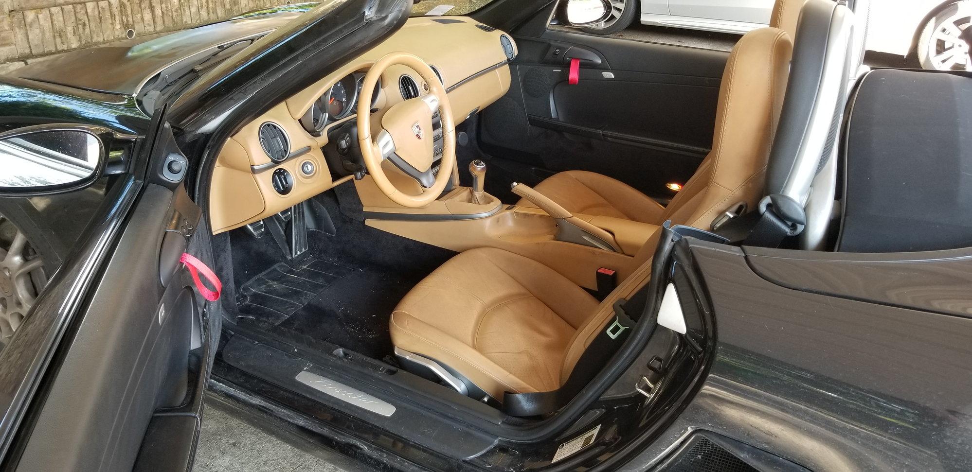 Project Boxster almost complete - two tone interior, suspension, etc