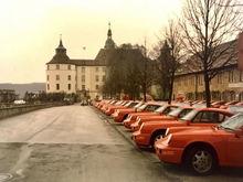 Lined up in Stuttgart