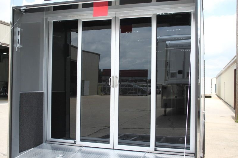 Adding Rear Glass Doors To An Enclosed Trailer Rennlist