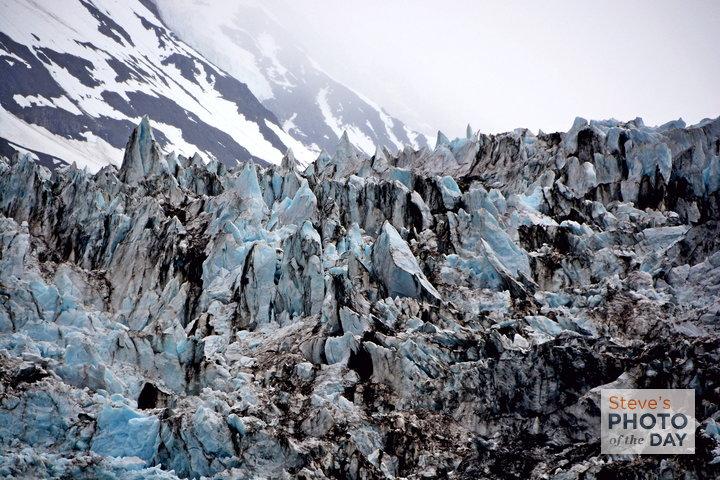 Glaciers Closeup - Alaska