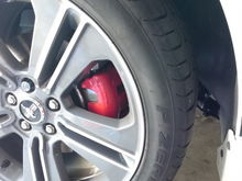 Painted calipers!