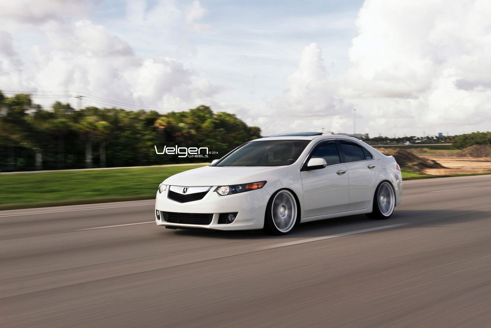 Acura tsx on velgen wheels