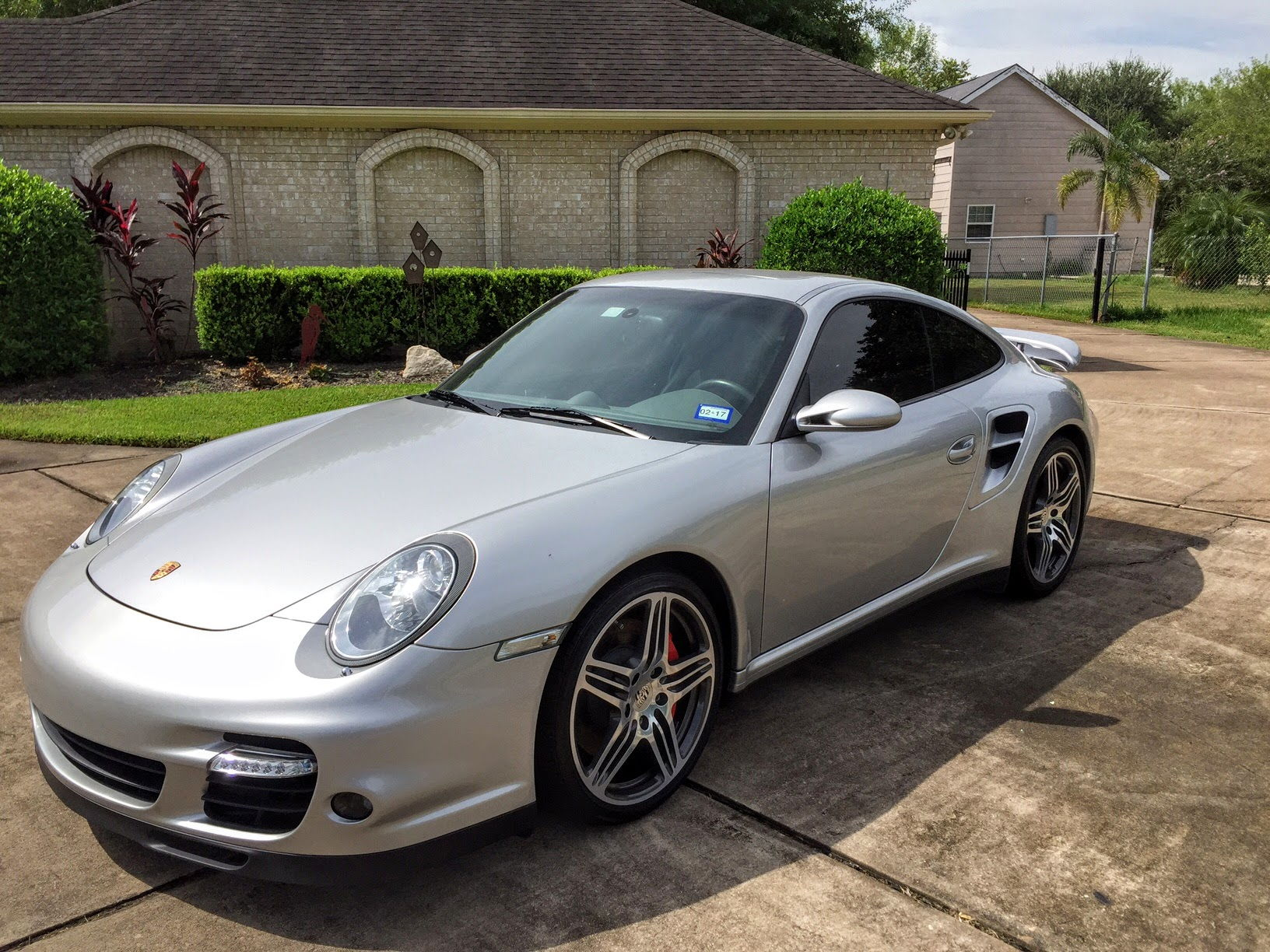Arctic Silver 2008 997 Turbo With A 6 Speed Manual