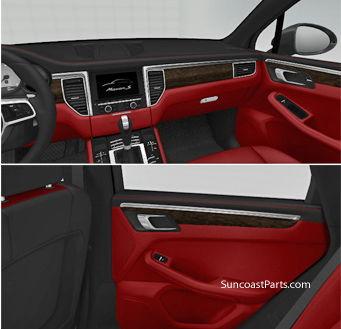 suncoast macan interior trim kits 6speedonline porsche forum and luxury car resource. Black Bedroom Furniture Sets. Home Design Ideas