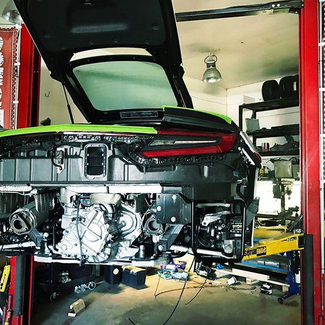 2017 Acura NSX ARMYTRIX Titanium Exhaust R&D / 2017 SEMA
