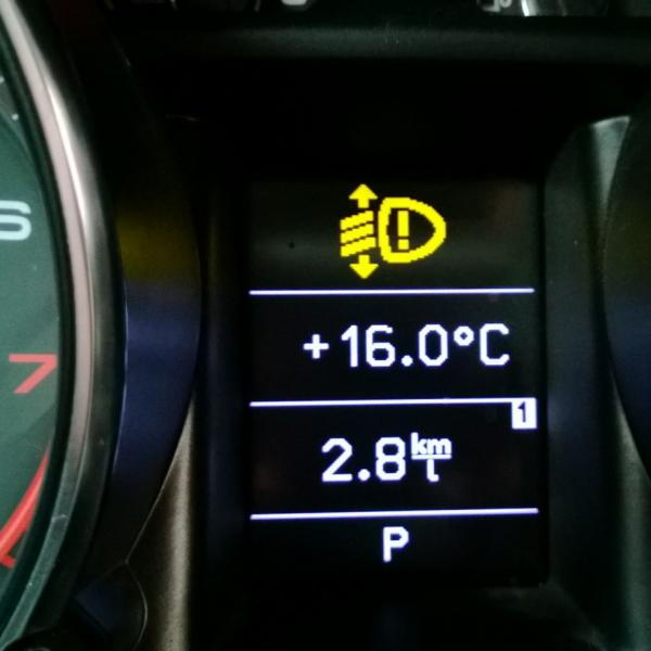 Audi TTS 2008 Dashboard Warning Light AudiForums com