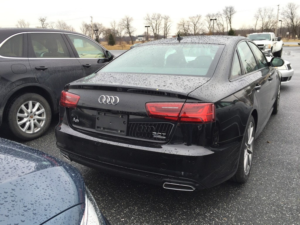Will Facelift A6 Diffuser And Tips Fit A Current Prestige