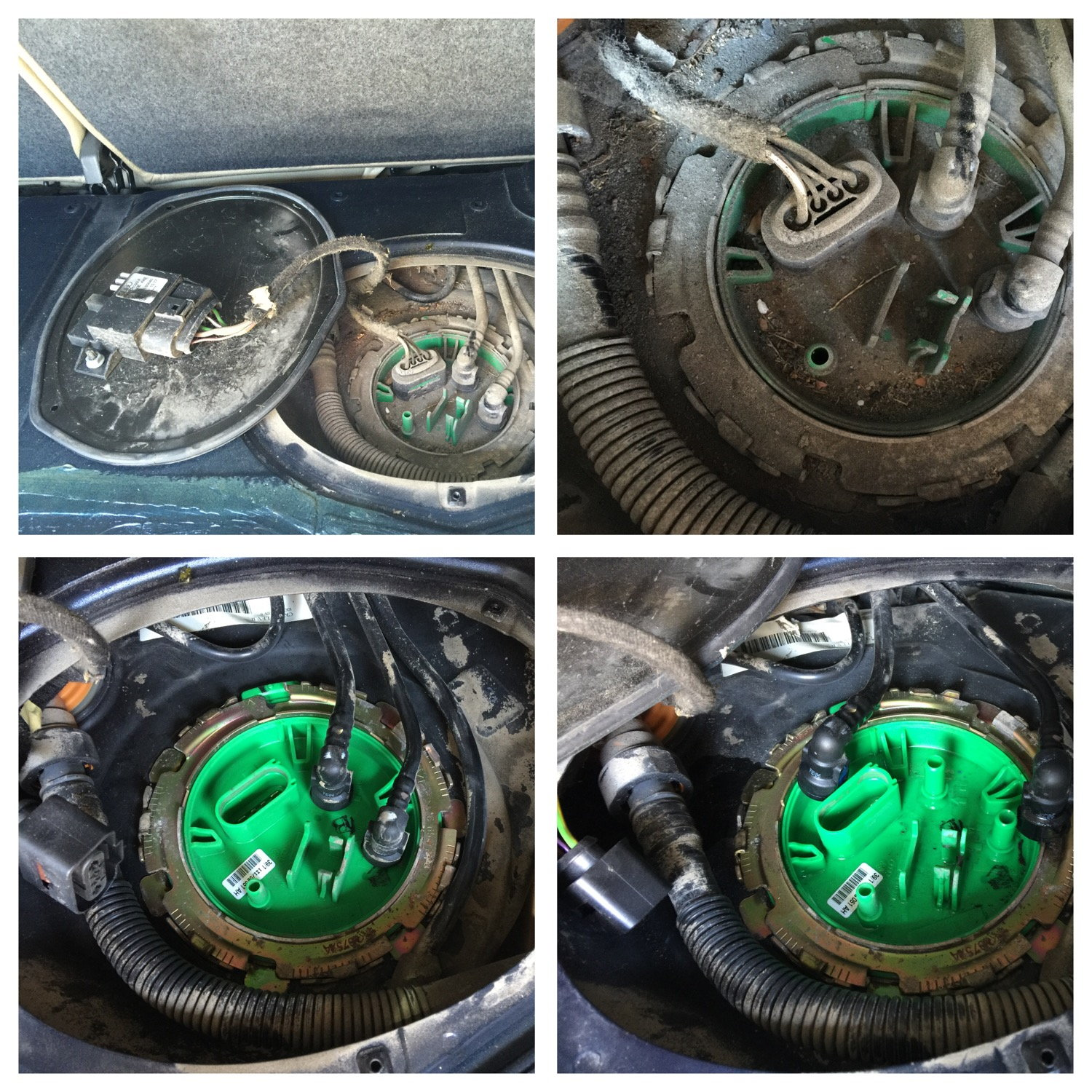 B7 NON-Quattro In-tank fuel pump replacement How-To - AudiWorld Forums