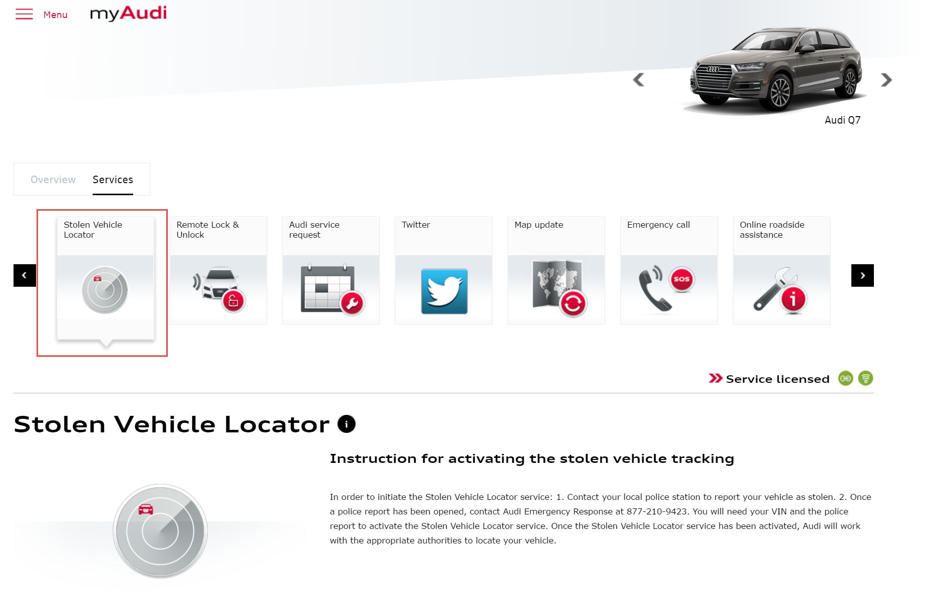 Stolen Vehicle Locator & Insurance Cost AudiWorld Forums
