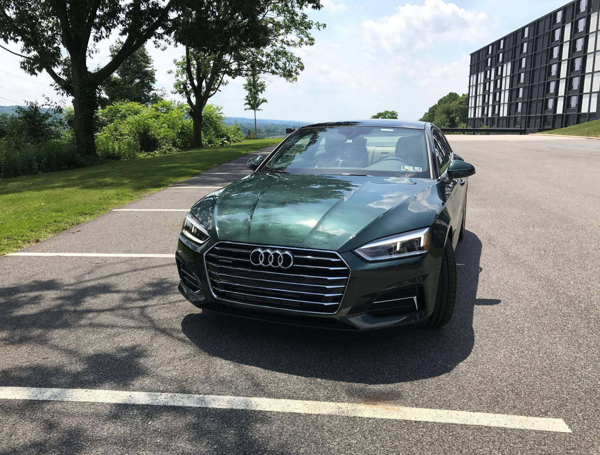 2018 Gotland Green A5 Coupe Premium Audiworld Forums