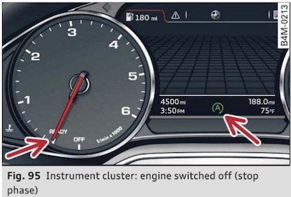 AUTO START/STOP MALFUNCTION ON 2017  Q7 - AudiWorld Forums