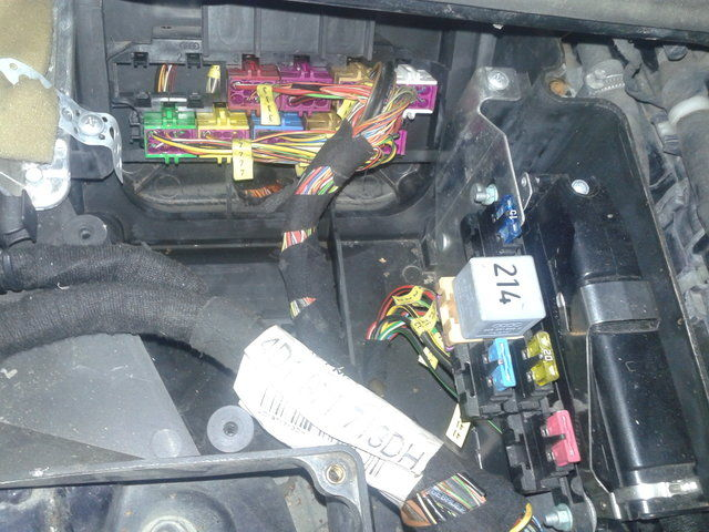 Audi A8 Secondary Air Injection Pump Relay And Fuse