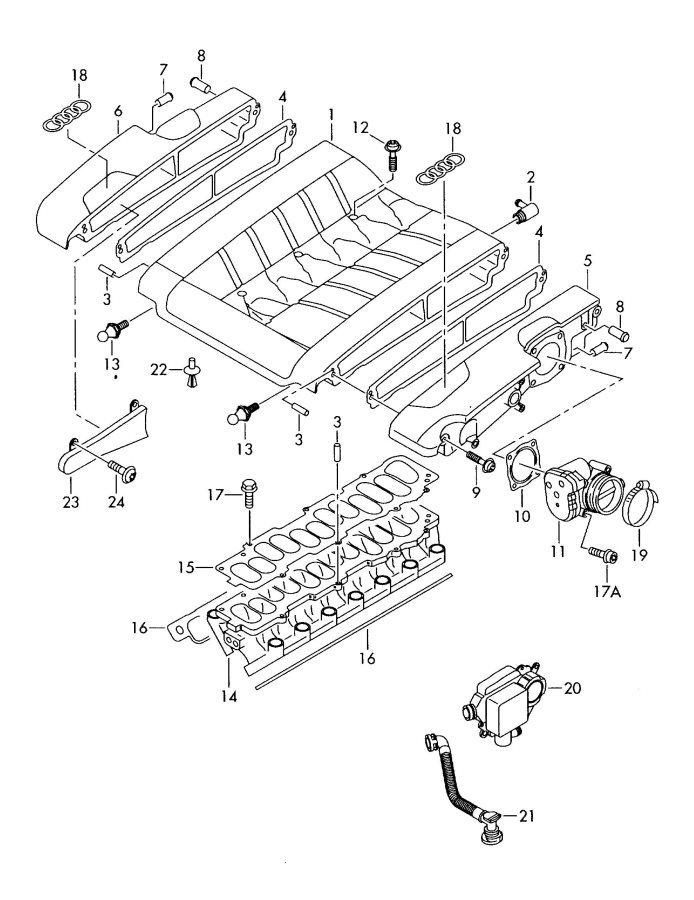 W12 Intake Manifold Torque Specs