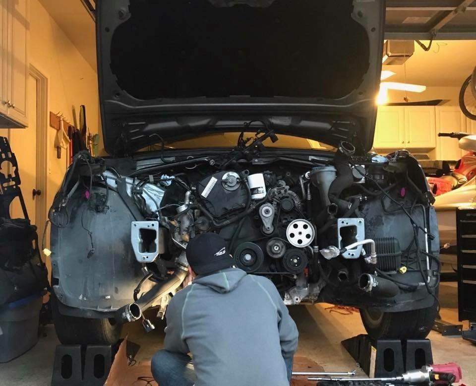 Engine Swap Complete - AudiWorld Forums