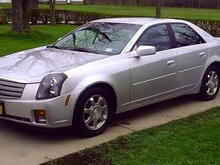 My '03 Cadillac CTS (32,000 miles)