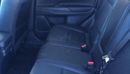 2014 Mitsubishi Outlander GT interior back seat