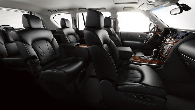 You Ll Find A Handful Of Full Bod Luxury Suvs On The Market And Infiniti Qx80 Is Among Plushest This Model Offers All Expected Trings