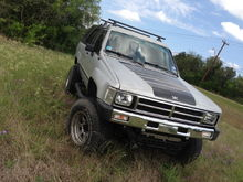 My old 4runner, wasn't bad, but was painfully slow