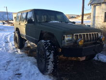 "My xj aka ""pickle jeep"""