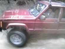 little red Jeep Jeeps