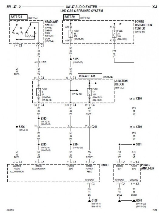 radio wiring diagram 96 jeep grand cherokee radio 96 jeep grand cherokee stereo wiring diagram infinity wiring on radio wiring diagram 96 jeep grand