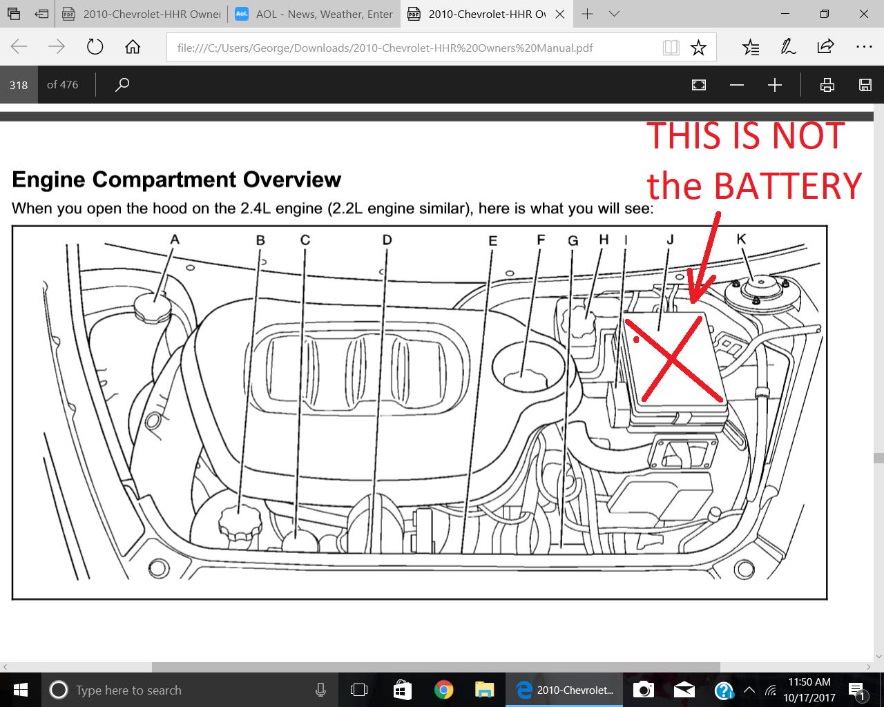 Hhr 2006 Wont Start Chevy Network Crankshaft Position Sensor Firemangeorge 10 17 2017 1258 Pm