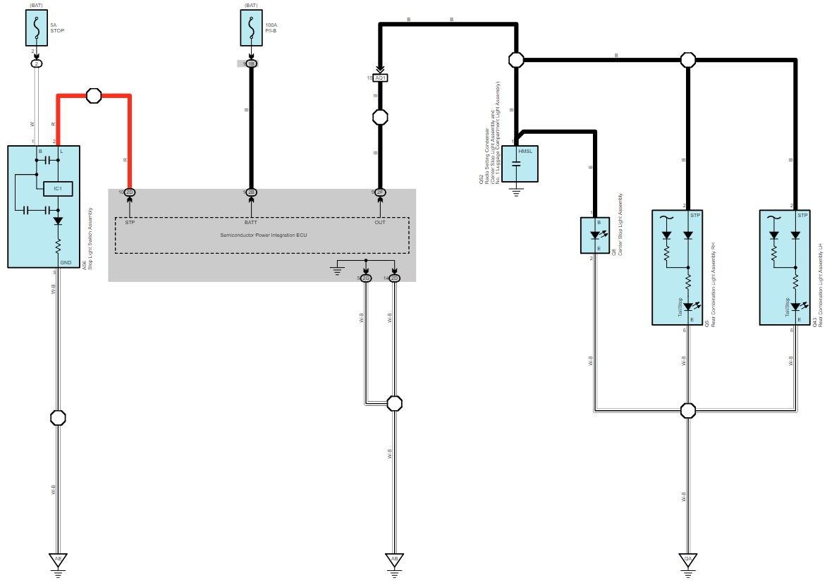 Brake Light Wiring Gram Schematic