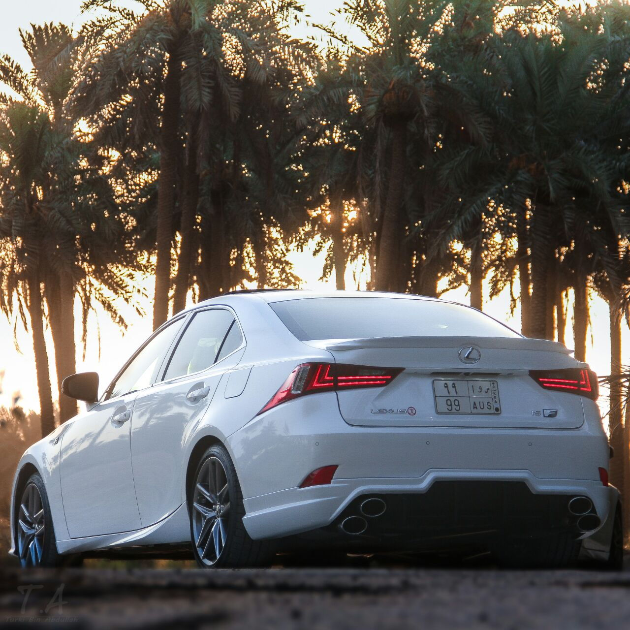 """2016 IS350 F Sport Ques. On """"Quad Exhaust Tips"""