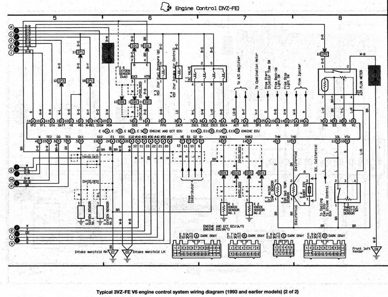 es300 92 injectors  2 and  5 no ground pulse