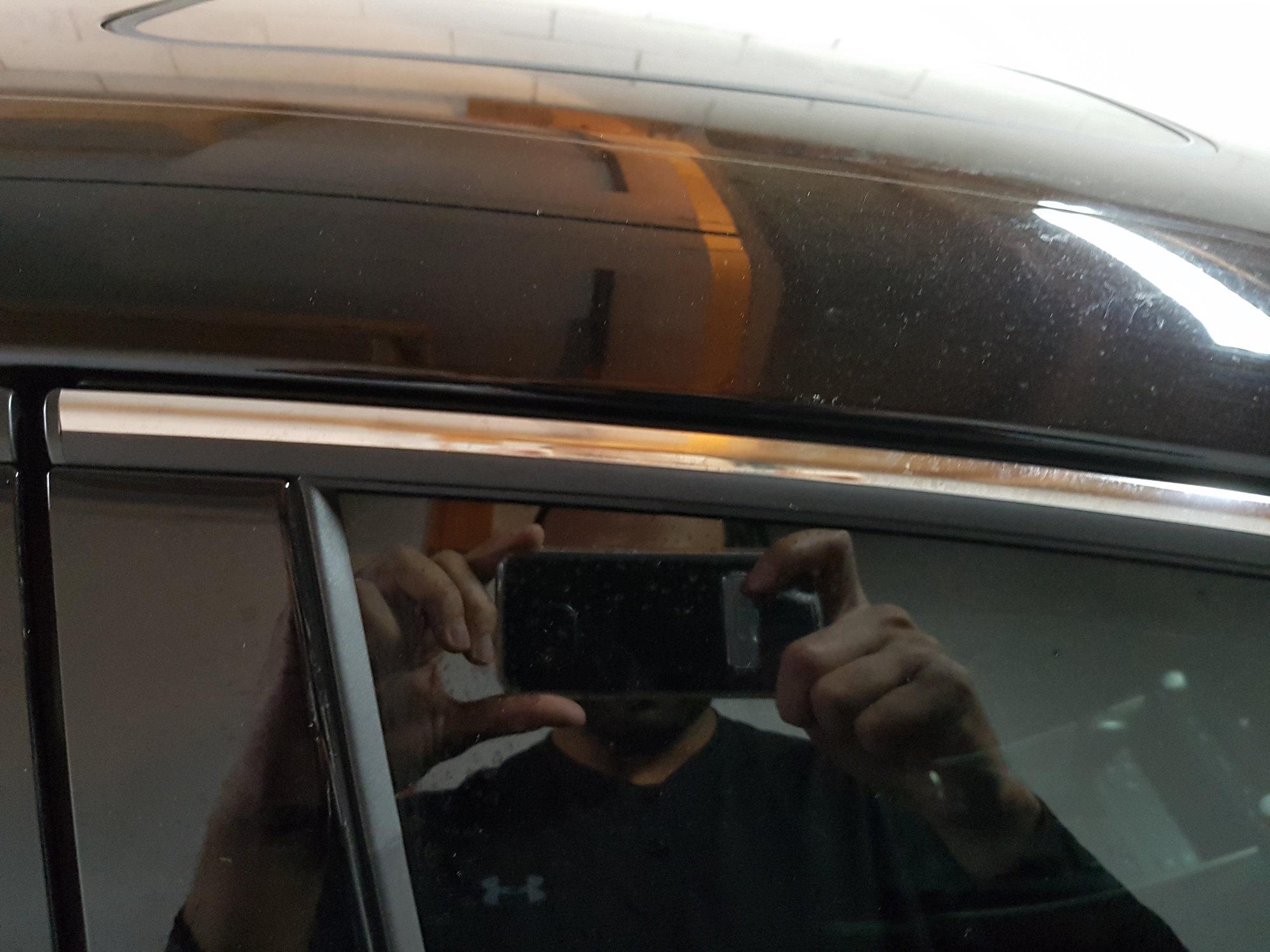 IS300 Piano Black Window Trim install - ClubLexus - Lexus Forum
