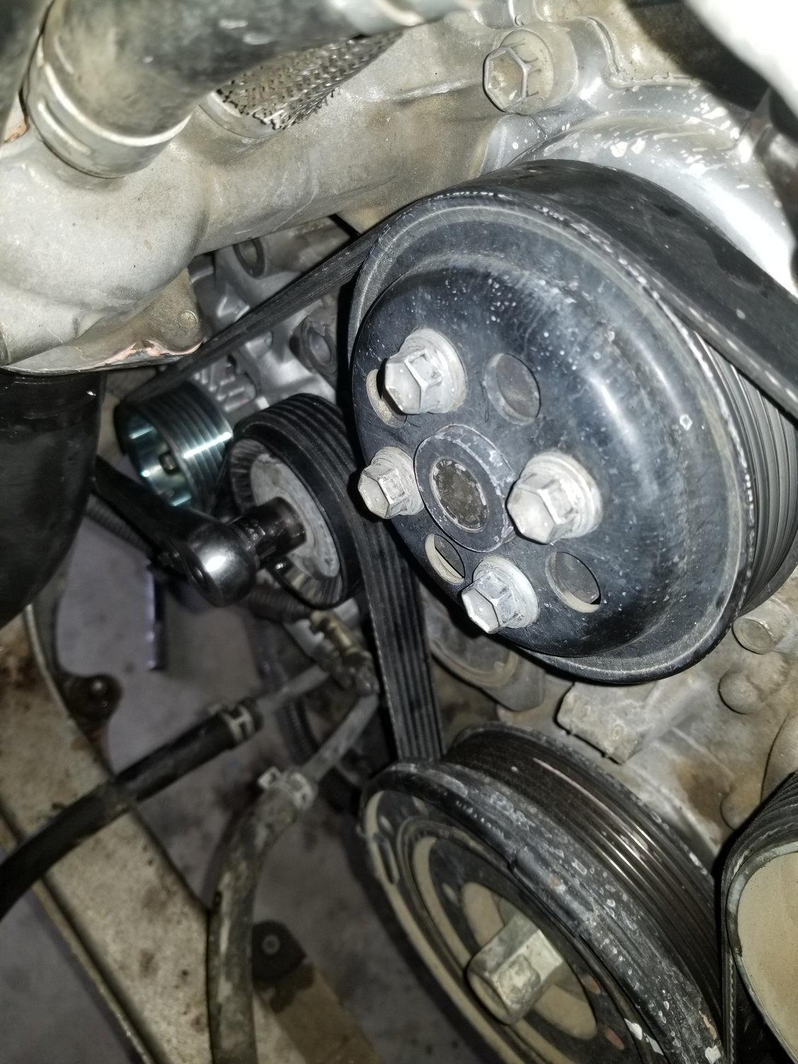Ls460 Alternator Removal DIY - ClubLexus - Lexus Forum Discussion