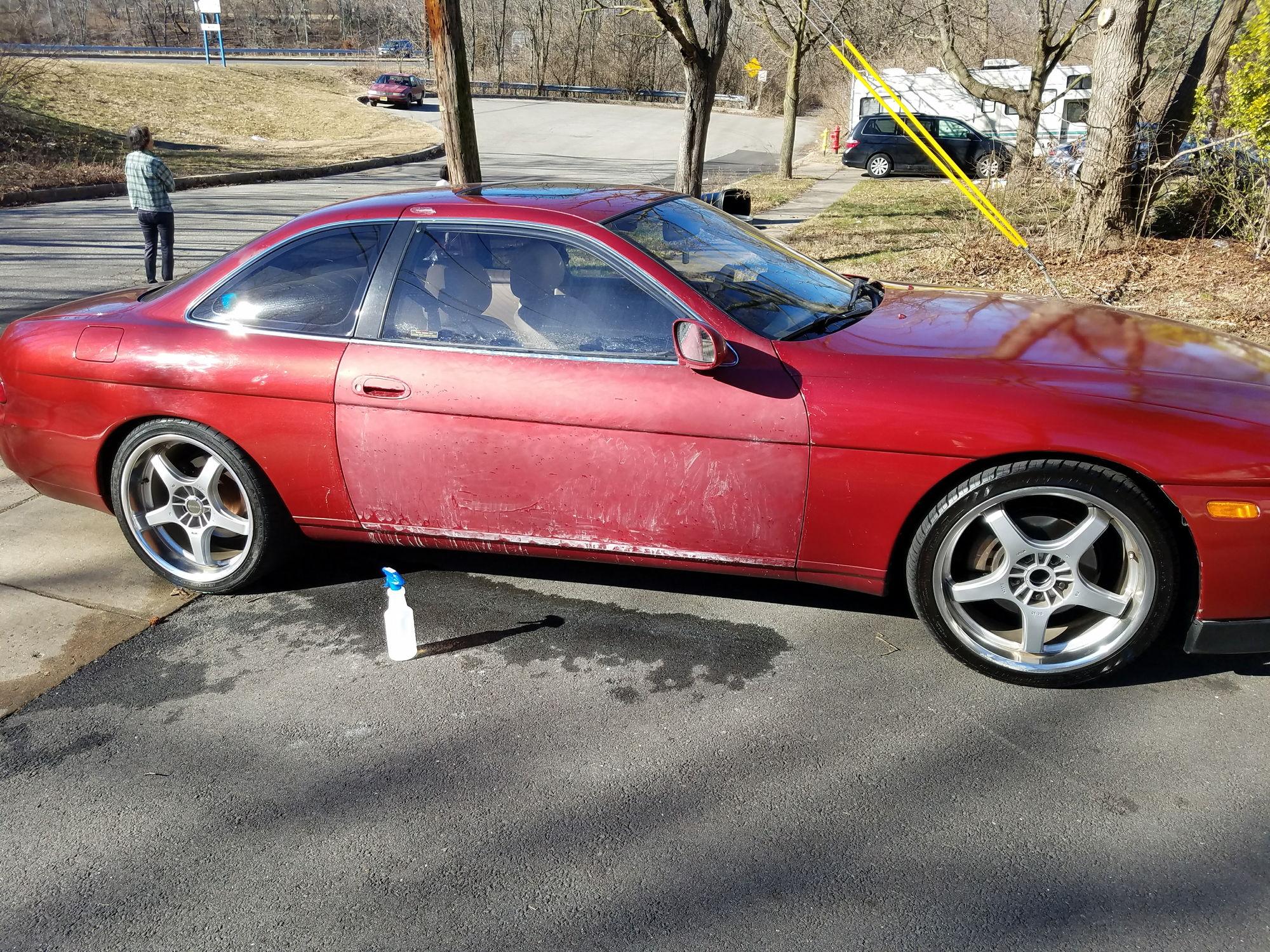 Lexus Paint Cans