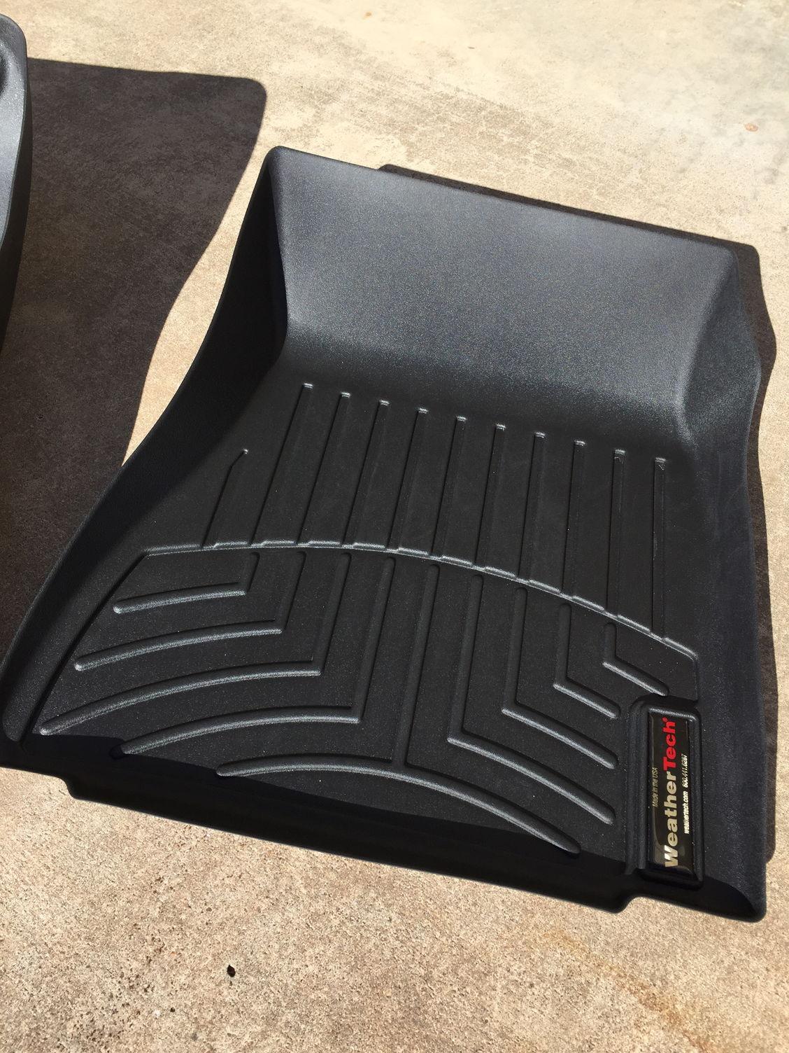 AllWeather Car Mats  All Season flexible rubber floor