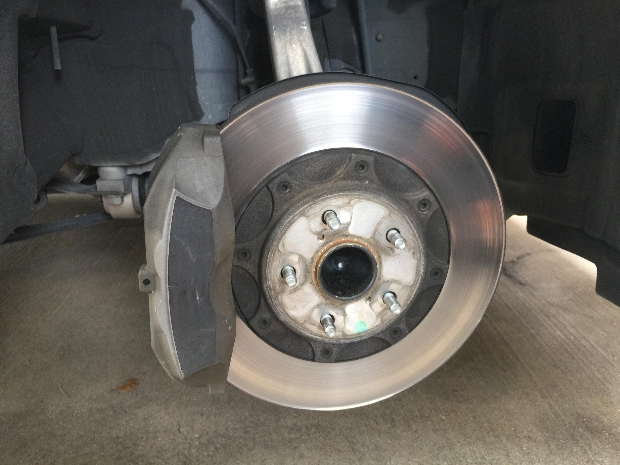 Front Premium Brake Rotors For Lexus GS350 GS450H IS350