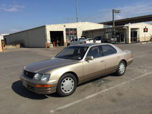 My '96 Lexus LS 400 with less than 30,000 miles.