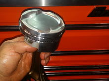 Je 9.5:1 forged pistons