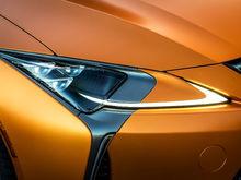 """Lexus LC - 21"""" V-FF 103 Carbon Graphite"""