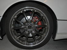 Need to identify this wheel make... Need to get a couple center caps
