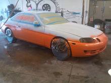 Orange on