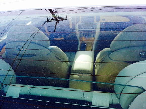 Sc430. 34k miles rear interior