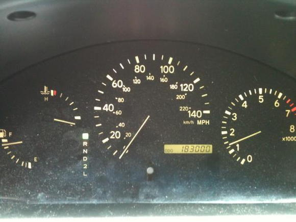 183,000 miles - July 8, 2012