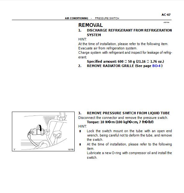 A/C High Pressure Switch - Location? - ClubLexus - Lexus