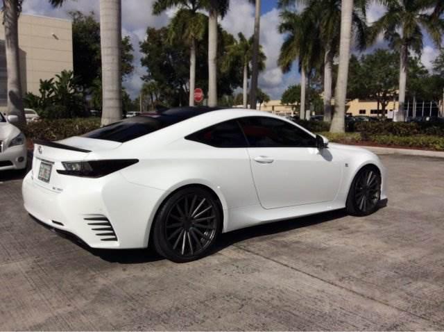 Rims For Sale Near Me >> White RC 350 w/ Black trim + Vossens - ClubLexus - Lexus ...