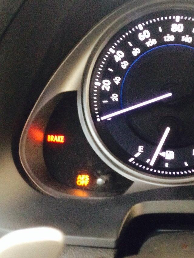 Flashing Check Engine Light >> Check VSC/Engine Light & AFS Problem - ClubLexus - Lexus