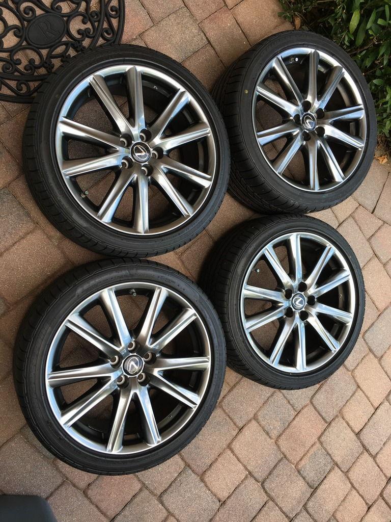 Fl Fs 2015 Oem Lexus Gs350 F Sport Wheels Amp Tires