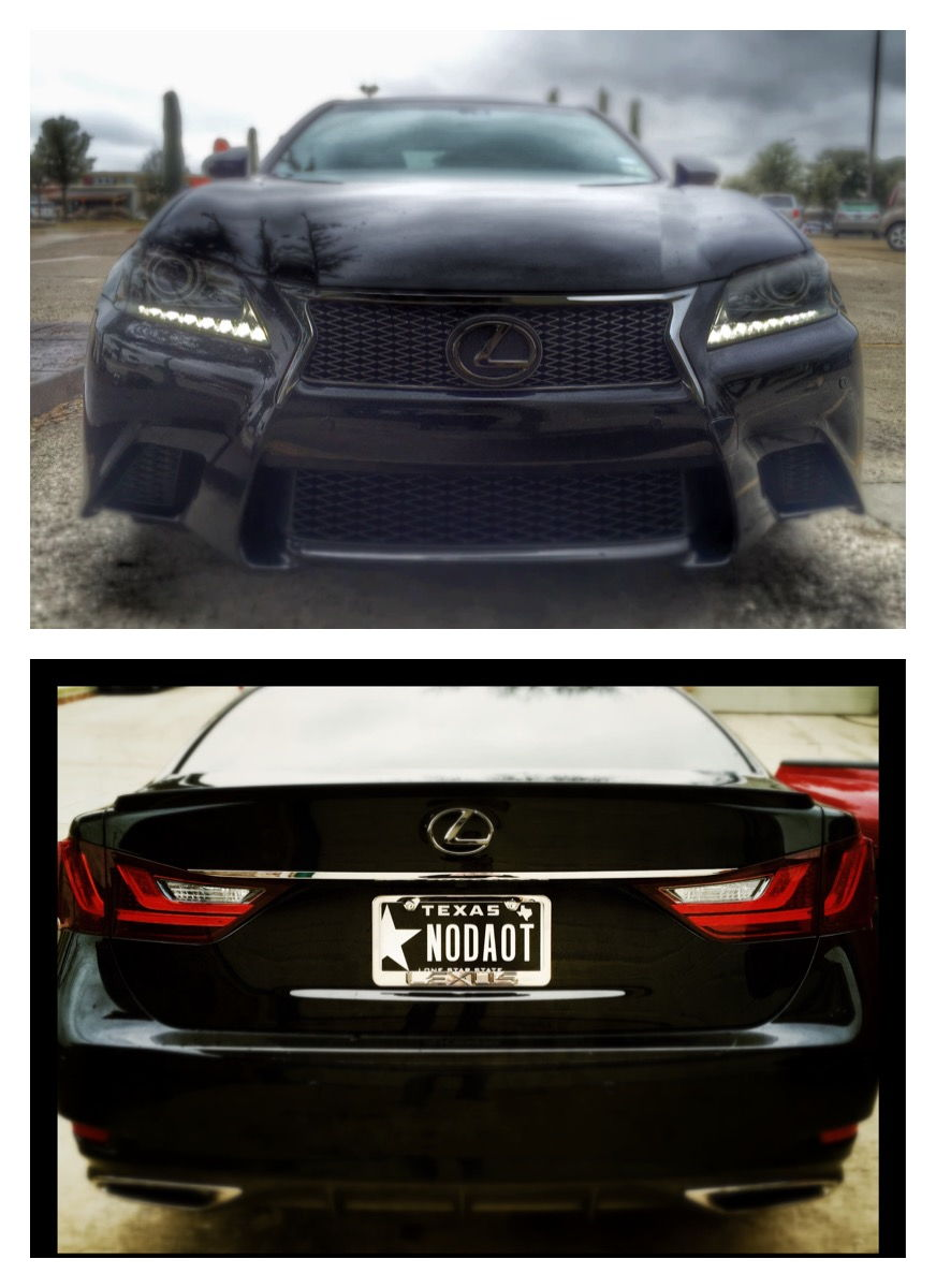 O The Gs 350 Emblem For A Little While